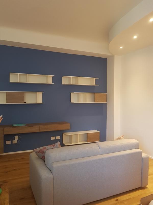 ristrutturazione appartamento milano zona soggiorno