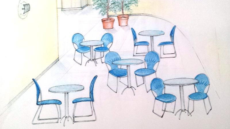 proposta ristrutturazione area ristoro